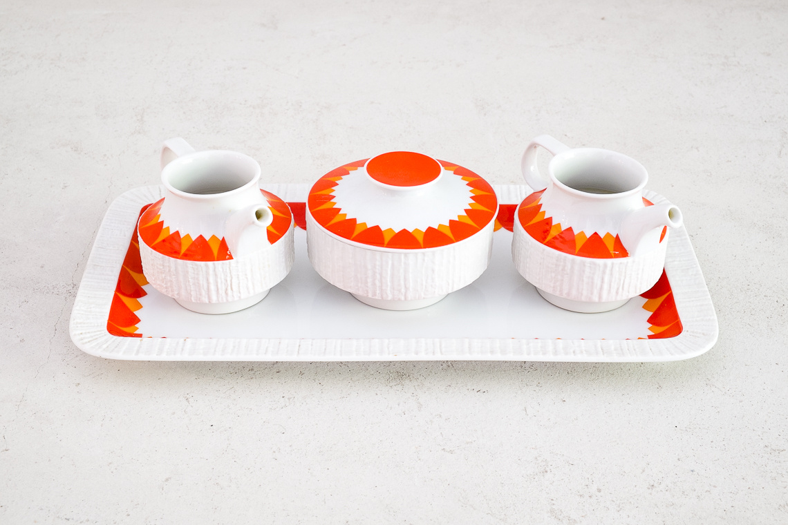 coffee service Arcta by Richard Scharrer for Thomas Germany