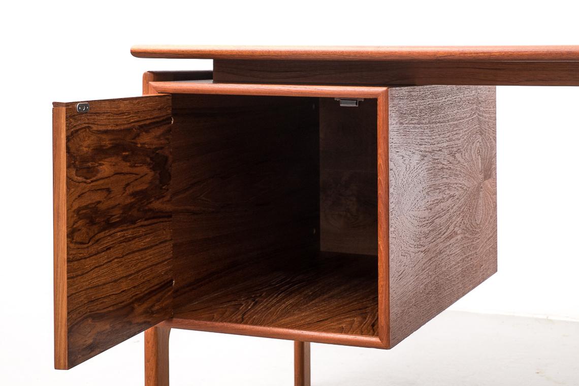 Danish Teak Desk by Arne Vodder for G.V Møbler