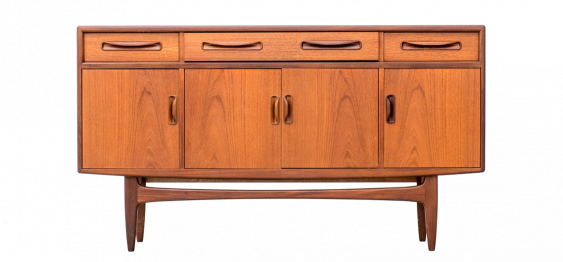 Mid-Century Fresco Teak Sideboard by V.B. Wilkins for G-Plan