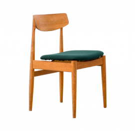 Set of 6 Danish Teak Chairs