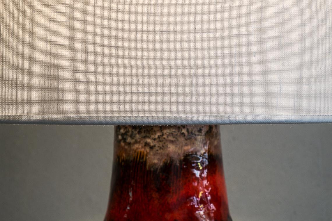 Fat Lava Ceramic Table Lamp from Hustadt Leuchten