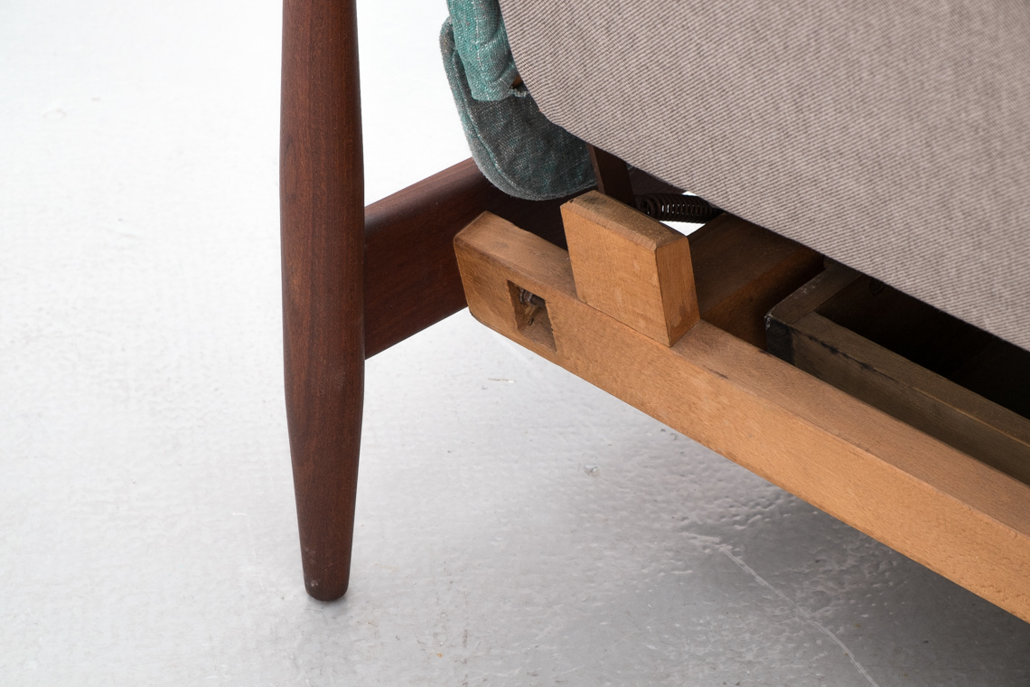 Mid Century Modern Sofa Bed BY PROFILIA-WERKE