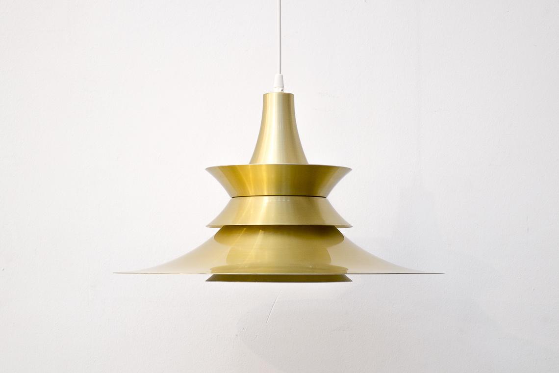 Pendant lamp by Bent Nordsted for Lyskaer Belysning