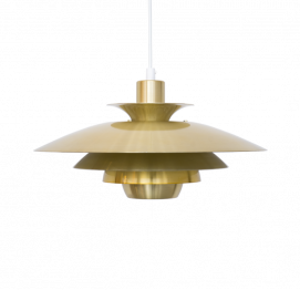 BRASS DANISH ALEXIA PENDANT LAMP BY JEKA