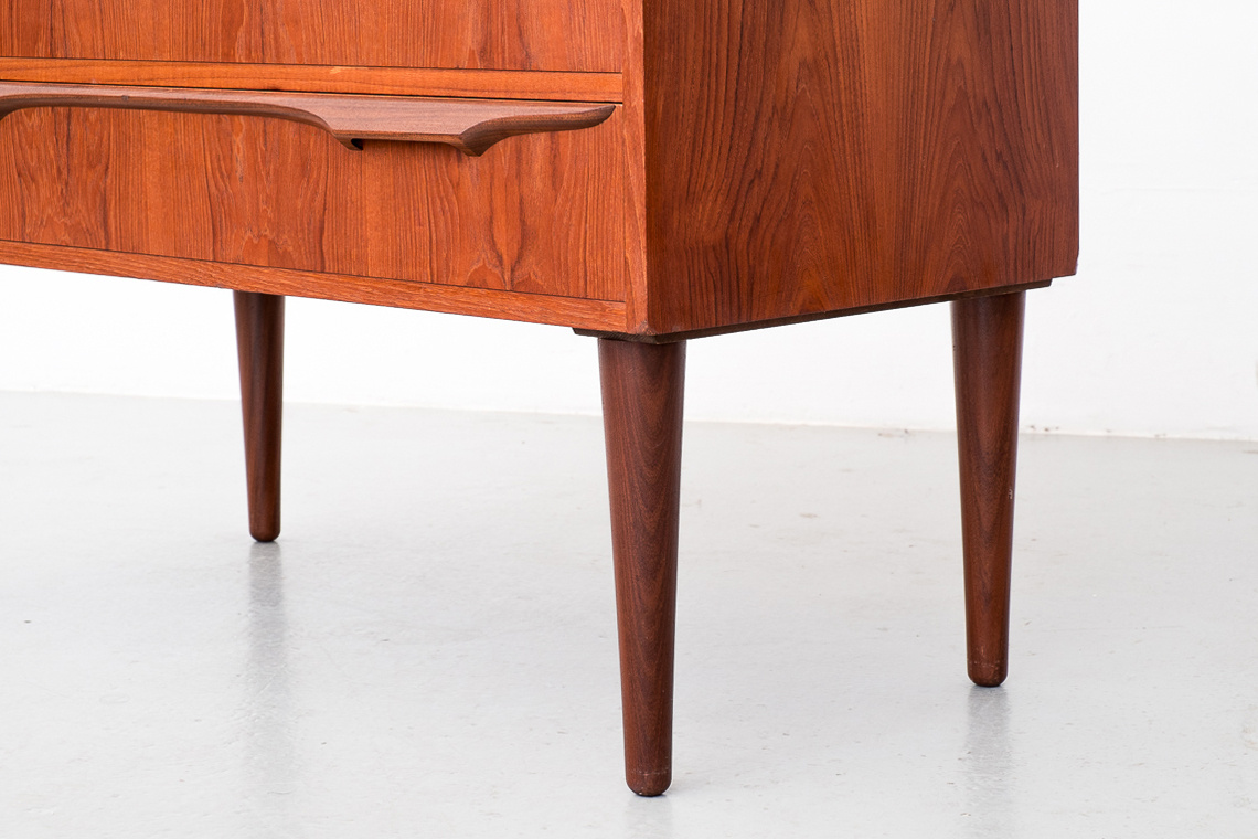 Mid-Century Danish Teak Secretaire by Klaus Okholm for Trekanten