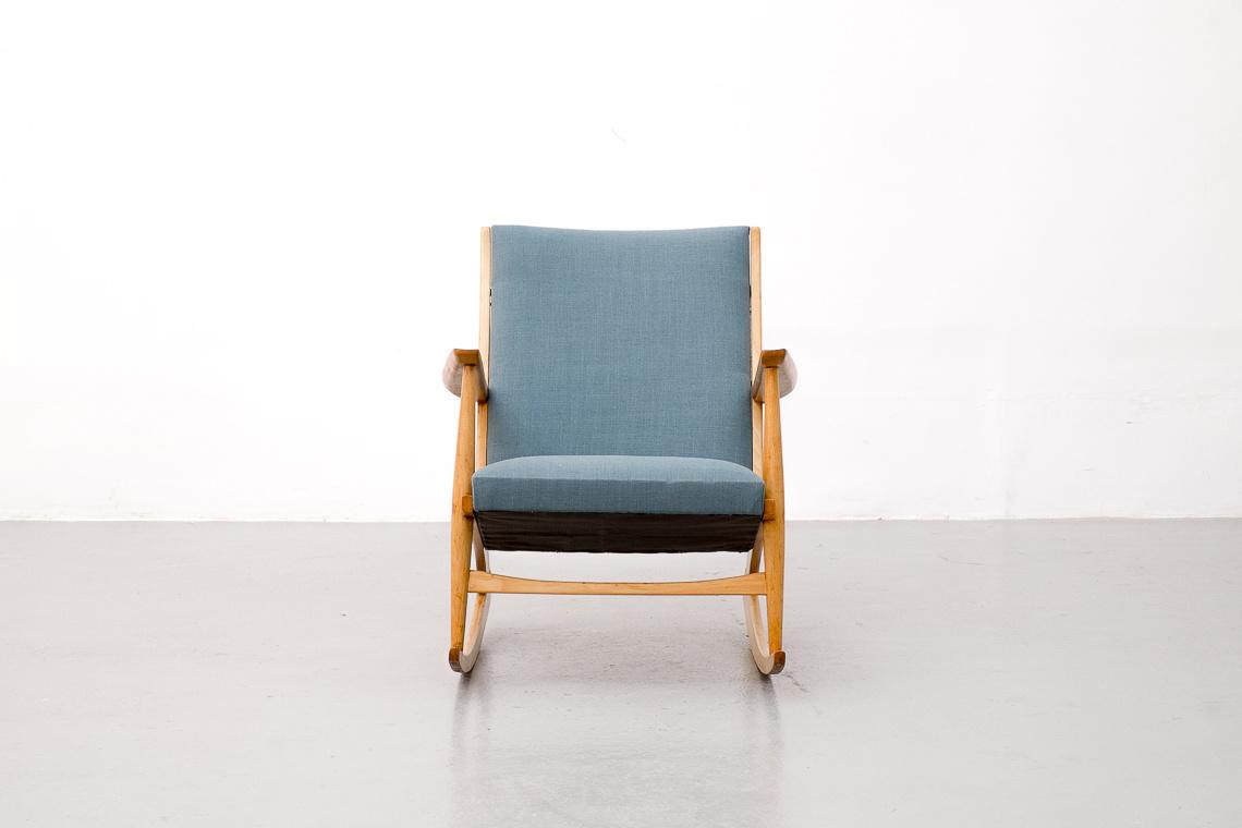 Rocking Chair by Holger Georg Jensen for Tønder Møbelværk
