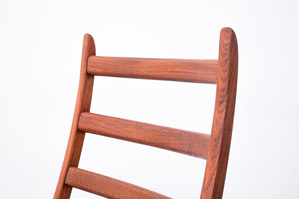 Set of 4 teak Dining Chairs by KORUP STOLEFABRIK DENMARK