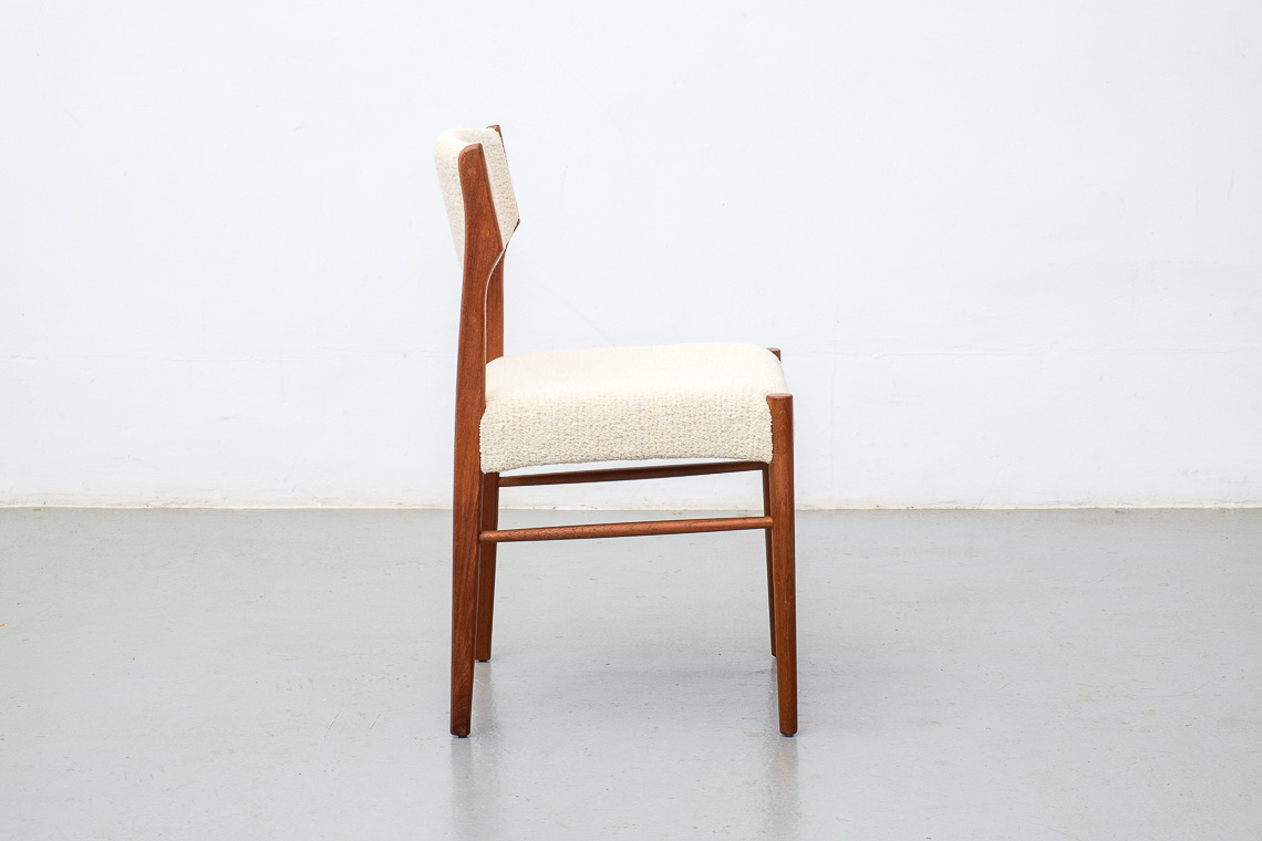 Set of 2 Teak Dining Chairs By SAX Møbelfabrik
