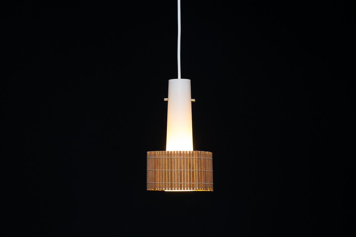DANISH GLASS PENDANT LAMP