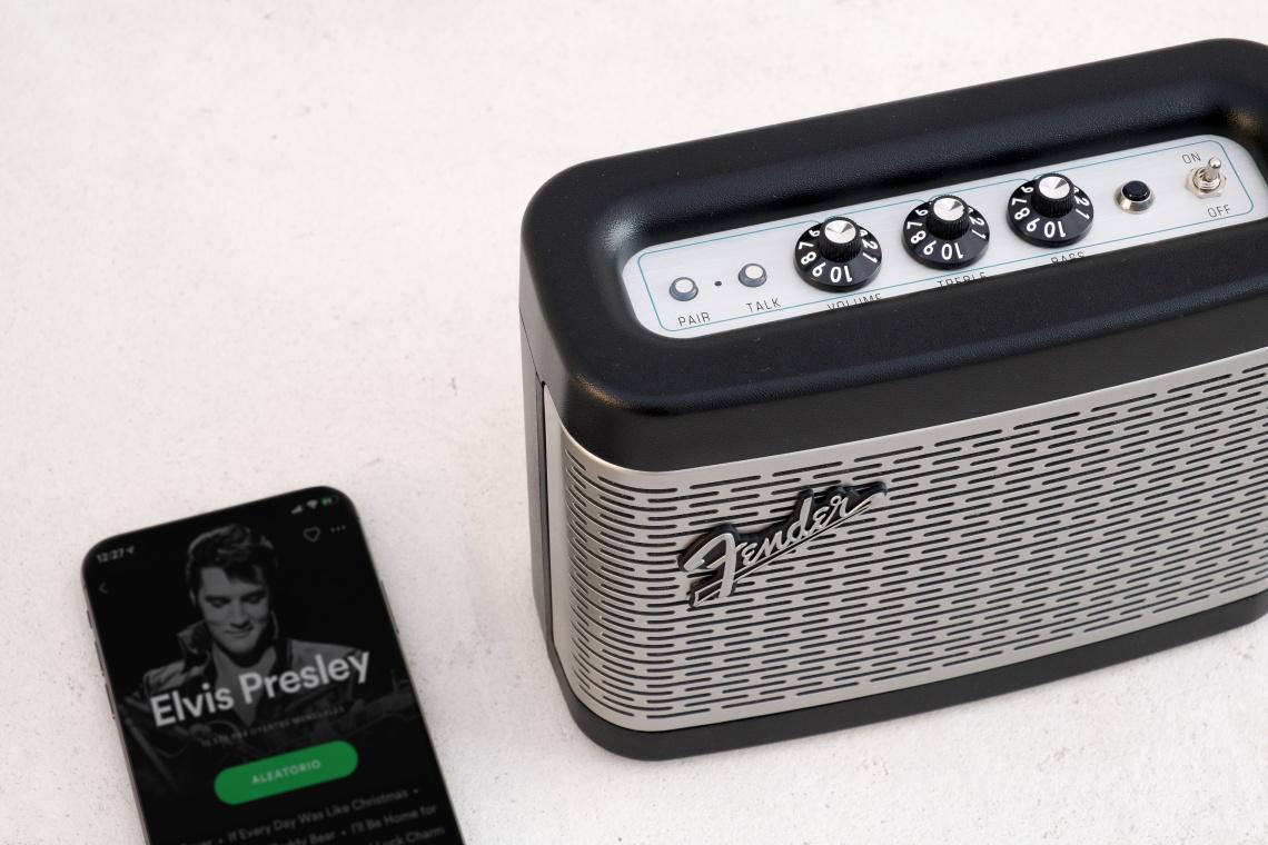 Fender Newport Black Bluetooth speaker