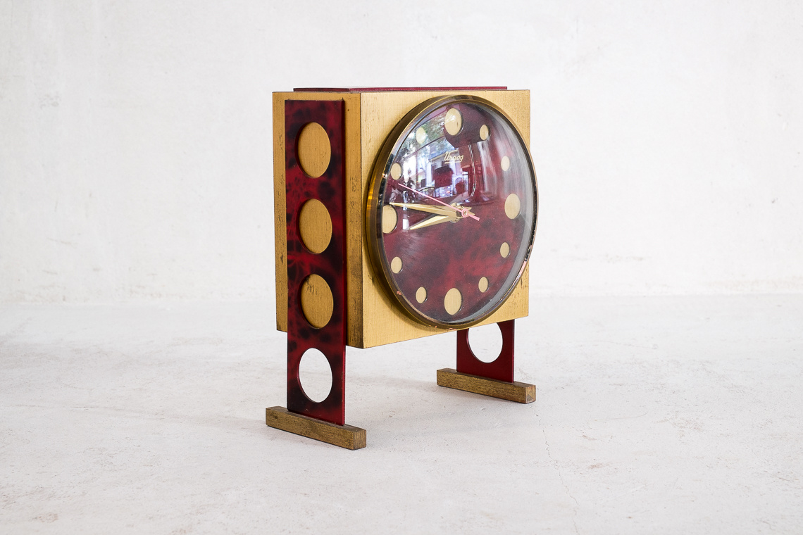 Table clock by Urgos German watch factory
