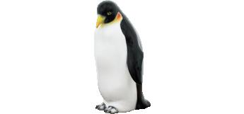 Emperor penguin (26CM) CERAMIC MADE IN ITALY
