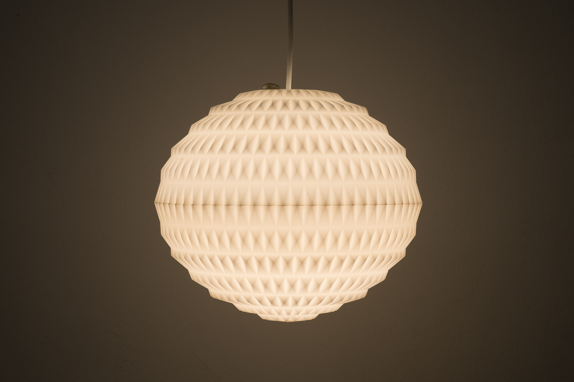 HANGING LIGHT BY A. F. GANGKOFNER FOR ERCO W. GERMANY