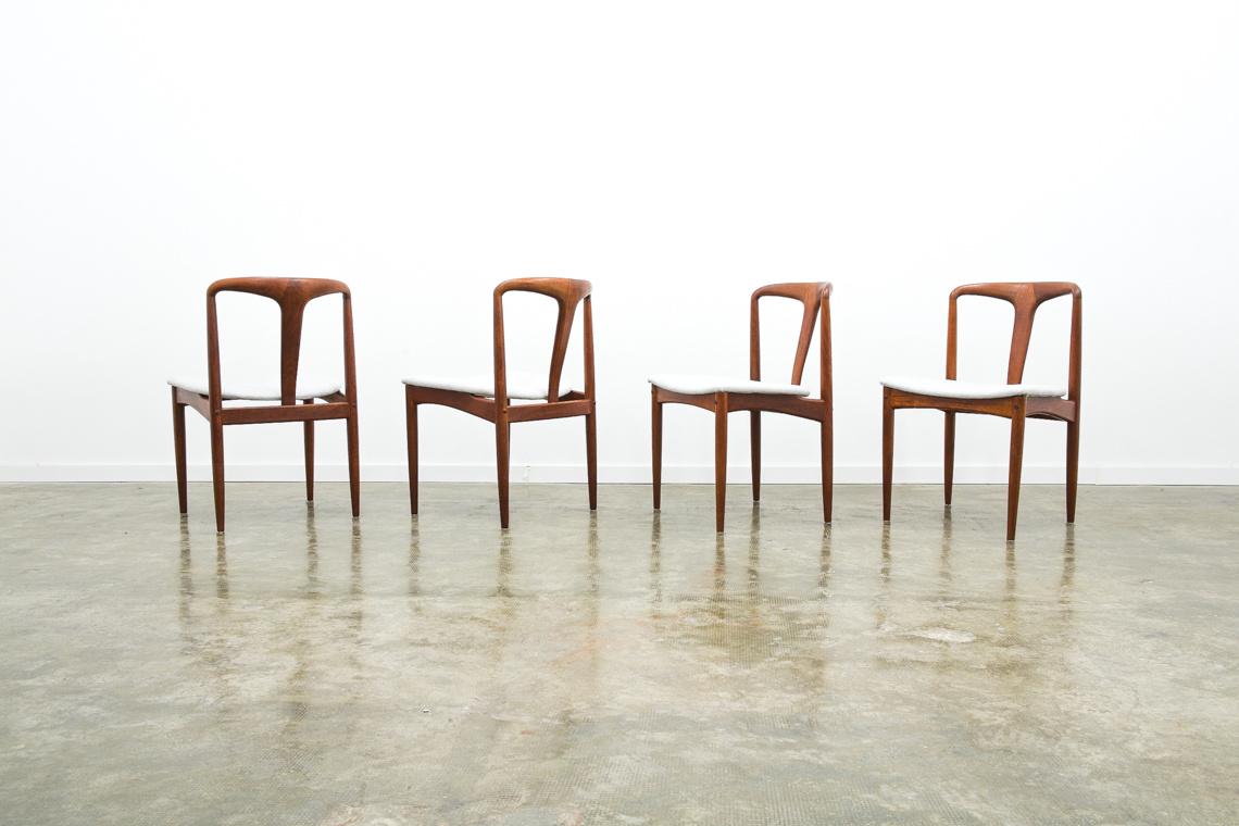 Set of 4 chairs Juliane by Johannes Andersen