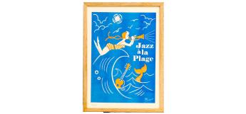 Risography Jazz à la Plage by El Marquès