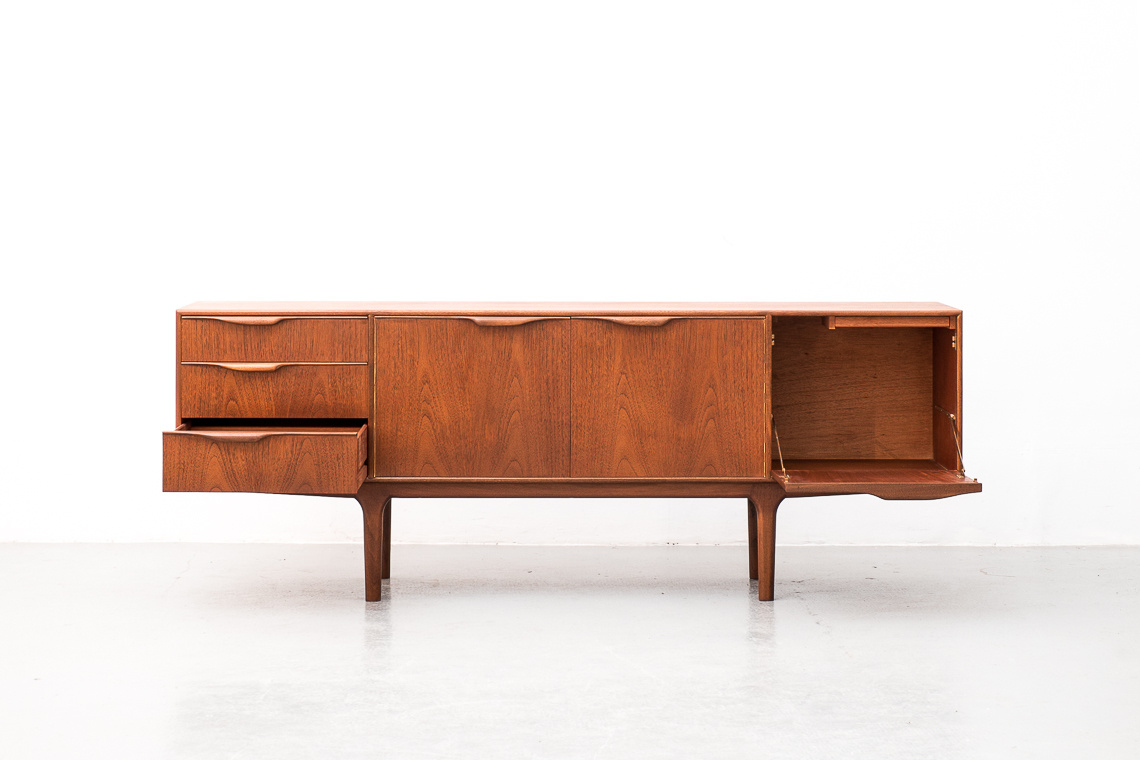 MID CENTURY TEAK MCINTOSH DUNVEGAN SIDEBOARD BY TOM ROBERTSON