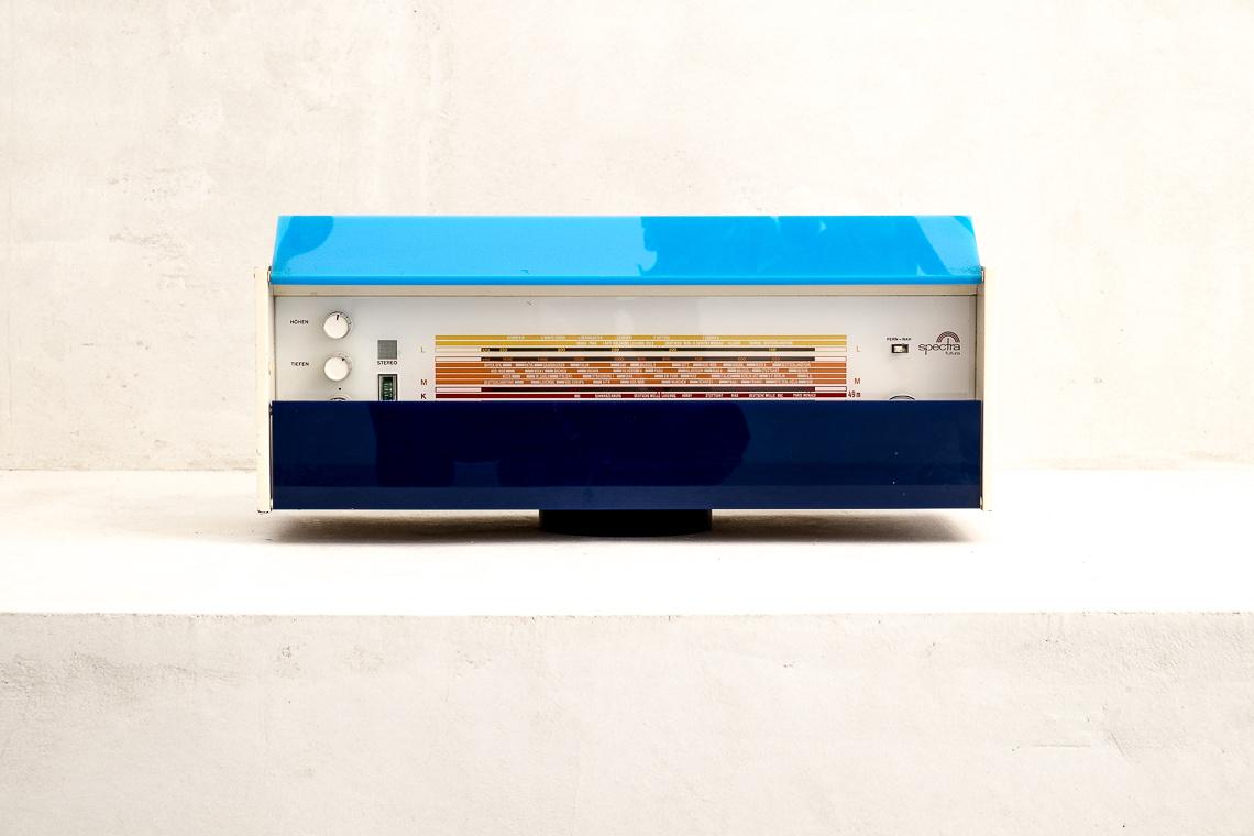 Nordmende Spectra Futura ST Radio Transistorradio Design Raymond Loewy