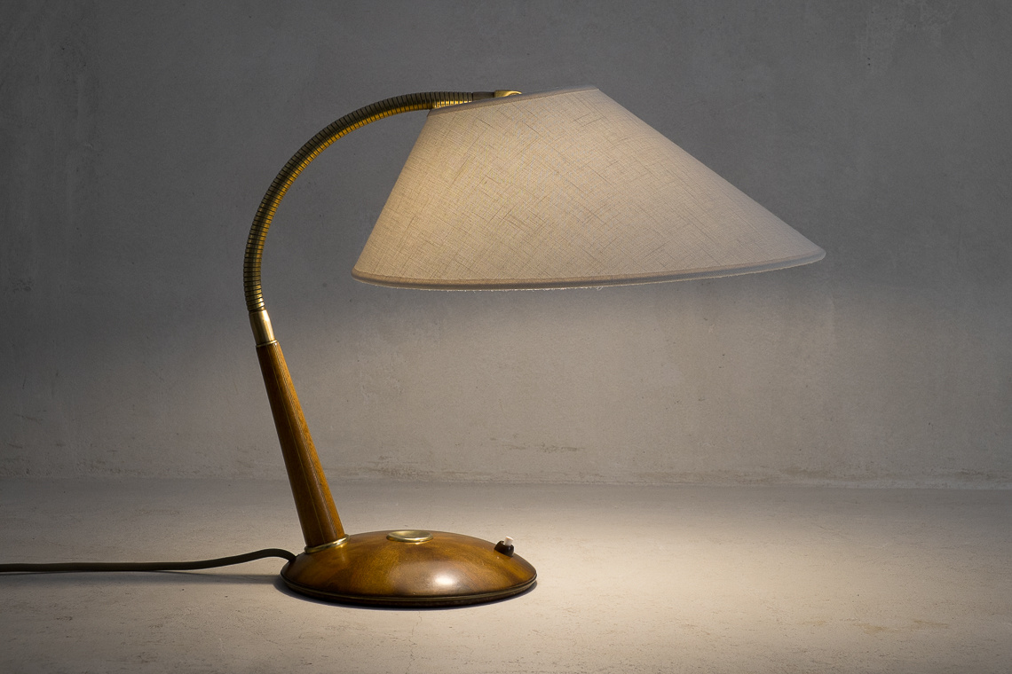 Teak TABLE Lamp Model 31  from Temde Switzerland