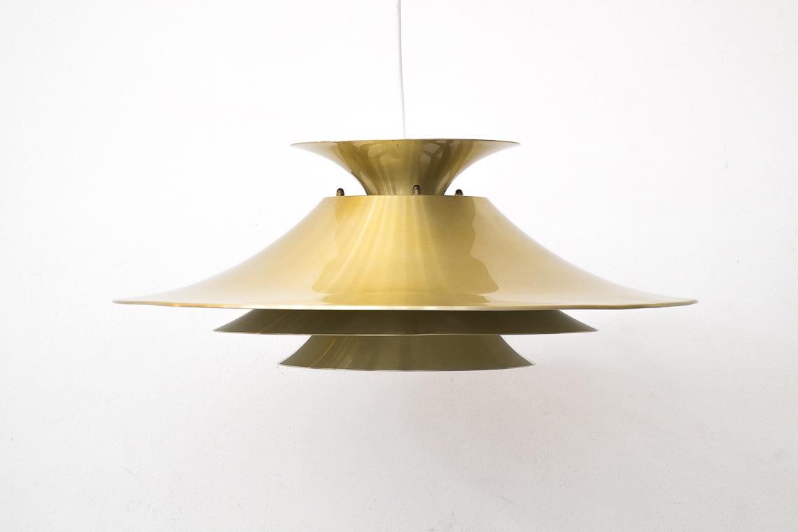 TORINO GOLD PENDANT LAMP FROM JUNGE DENAMRK
