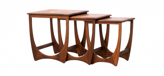 Fresco Nesting Tables by Victor Wilkins for G-Plan, 1970s