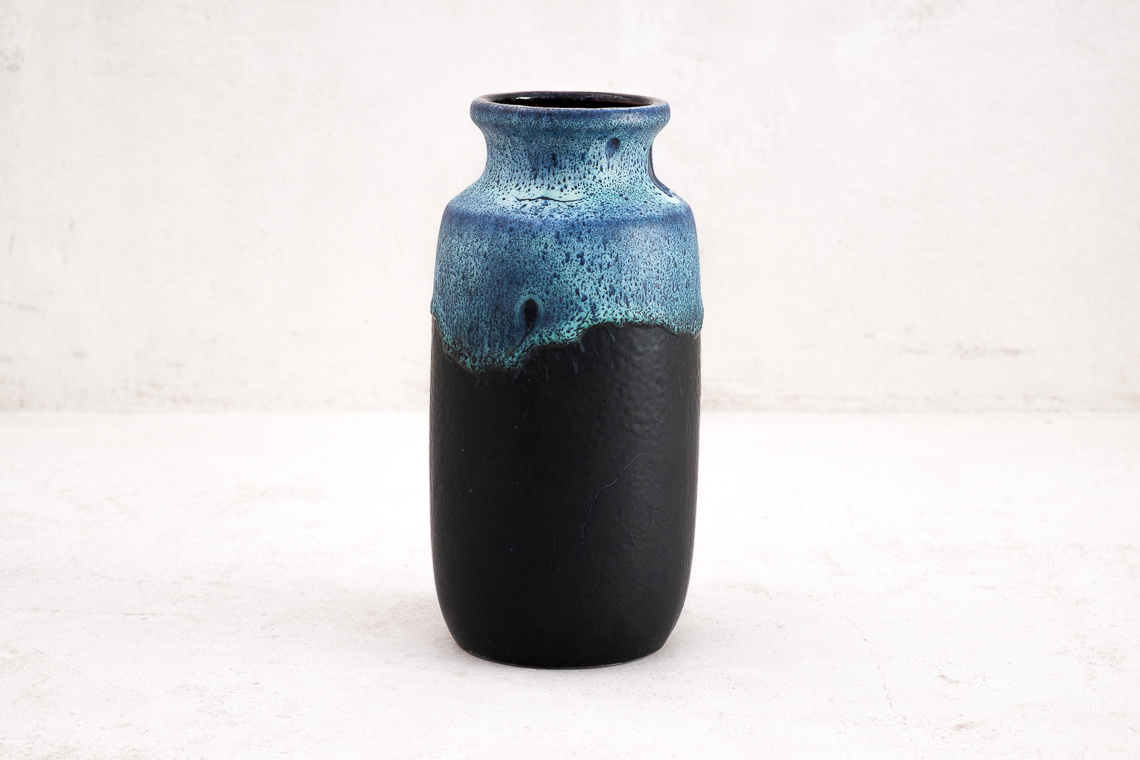 Pottery Vase Fat Lava by Scheurich
