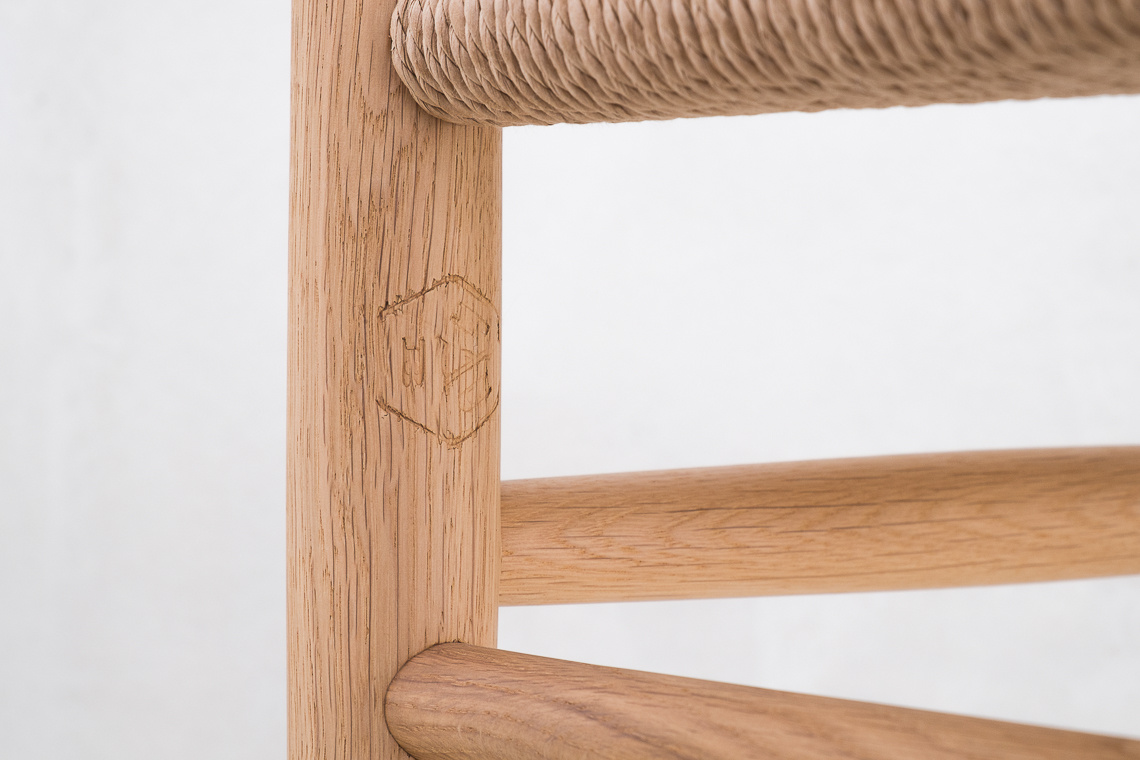 STOOL  J83 by Jørgen Bækmark for FDB Møbler