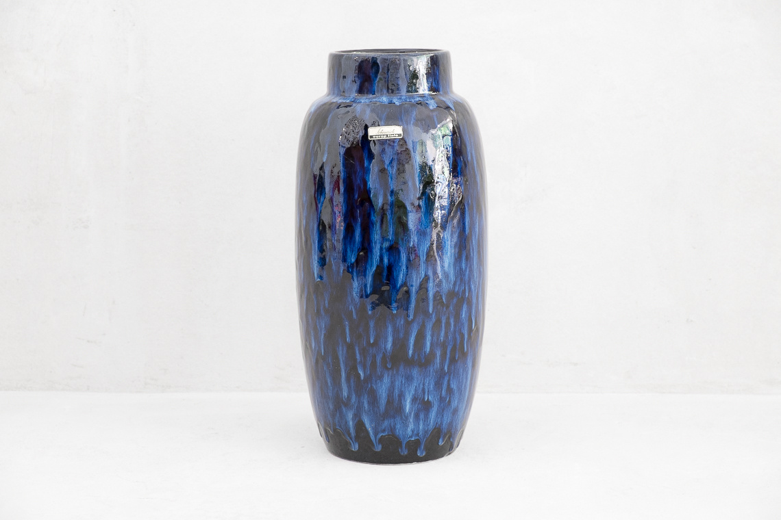 Extra Large Pottery Vase by Scheurich W. Germany