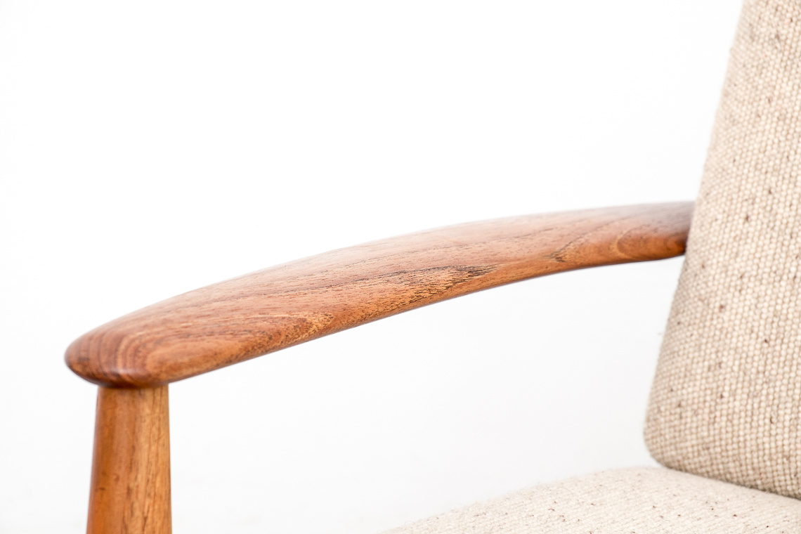 Model 118 Easy Chair by Grete Jalk for France & Søn