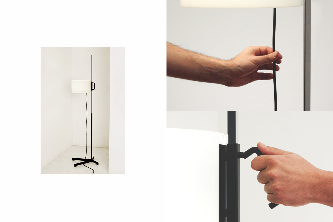 TMC Floor Lamp by Miguel Milà for Santa & Cole