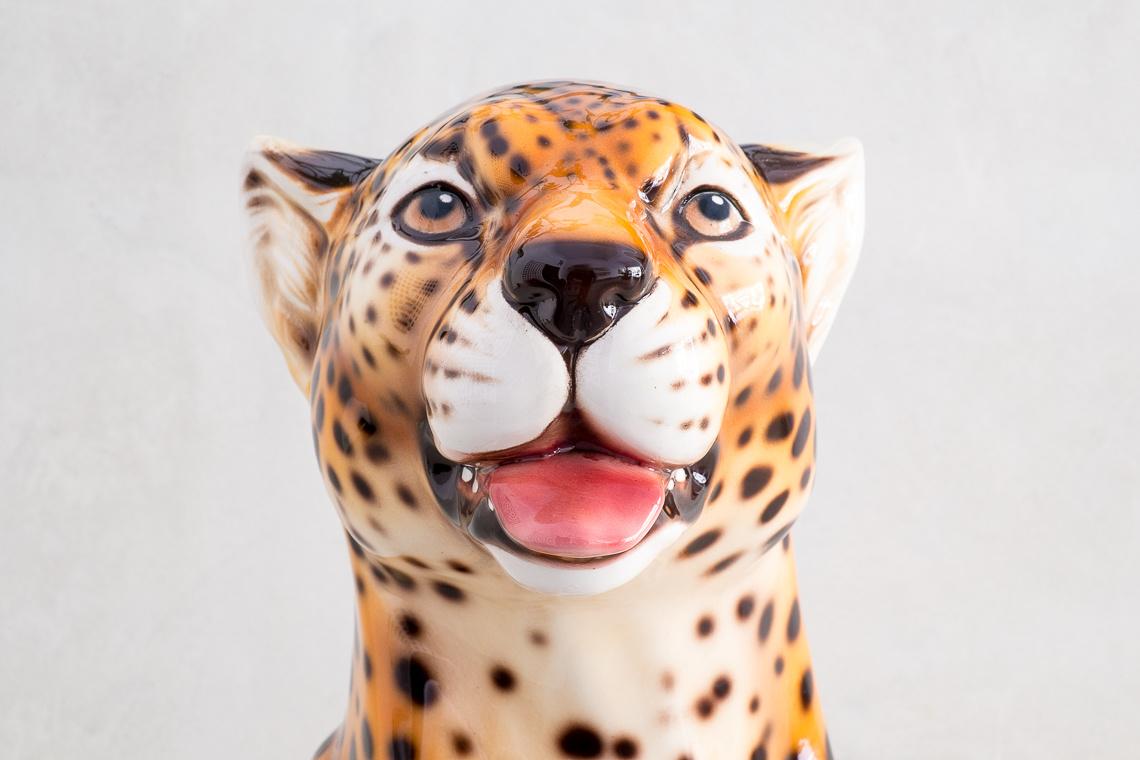 BIG Ceramic Cheetah Sculpture