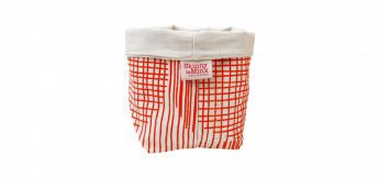 SOFT BUCKET SIGNAL RED BY SKINNY LA MINX