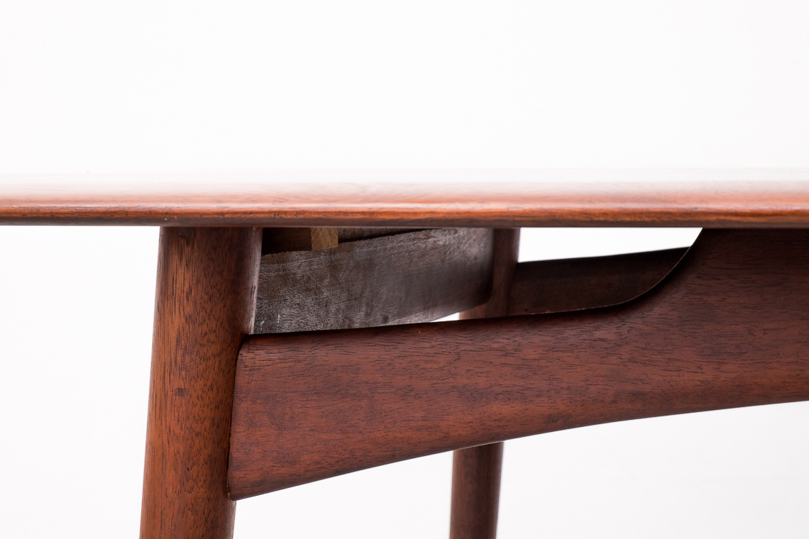 Dining Table in Afromosia by Dalescraft