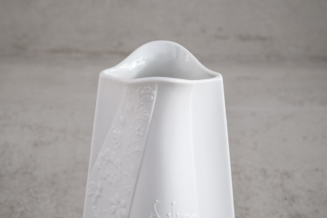 Germany Bisque Porcelain Vase by M. FREY FOR AK KAISER