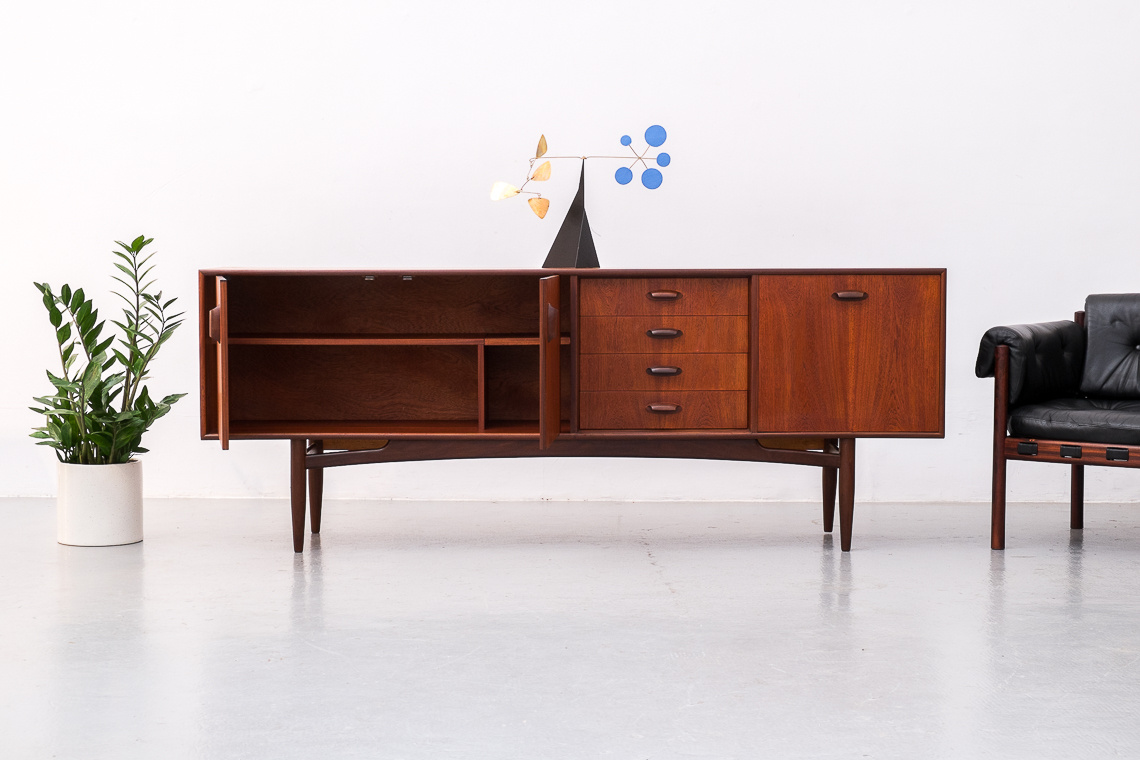 BRASILIA Teak sideboard by V.B. Wilkins for G-plan