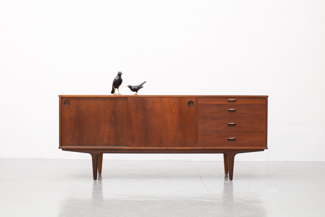 SIDEBOARD TEAK DARK MADE BY WRIGHTON