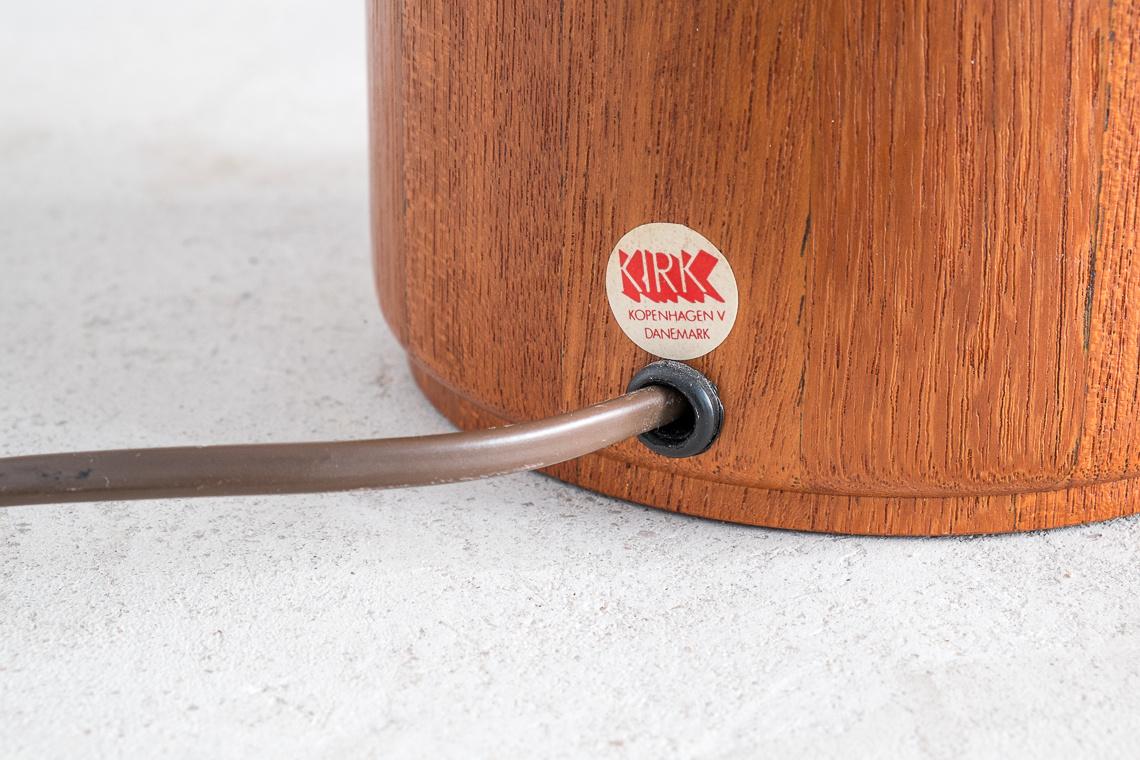 TEAK Table Lamp for Kirk Copenhagen