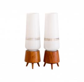SEt of 2 Scandinavian Bedside Lamps