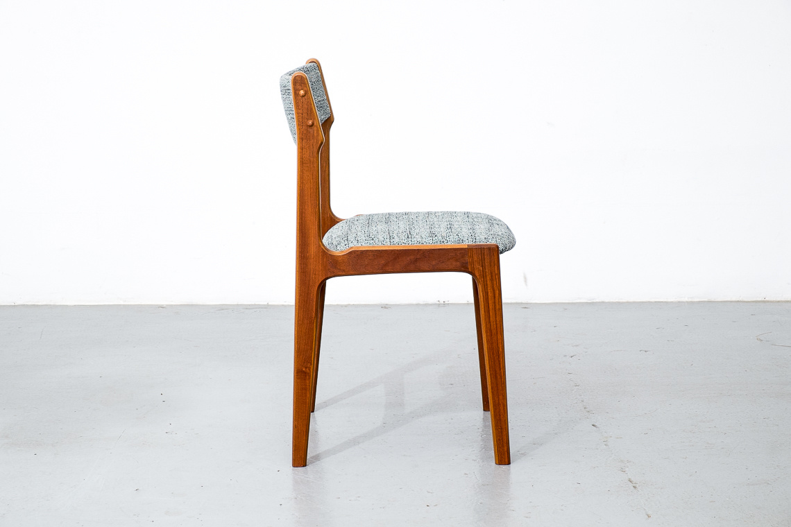 Set of 4 Teak Dining Chairs By Anderstrup Møbelfabrik