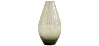 GLASS VASE BY INGRID GLAS GERMANY