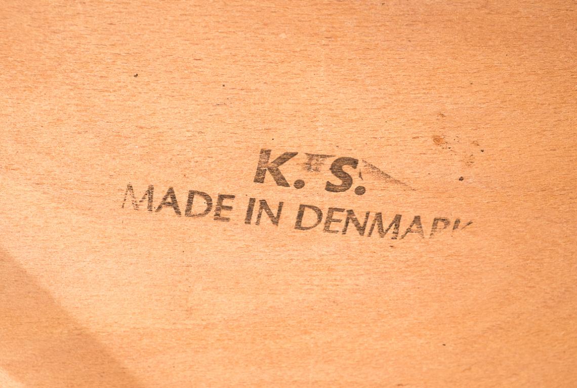 Set of 4 dinner chairs by Korup Stolefabrik Denmark