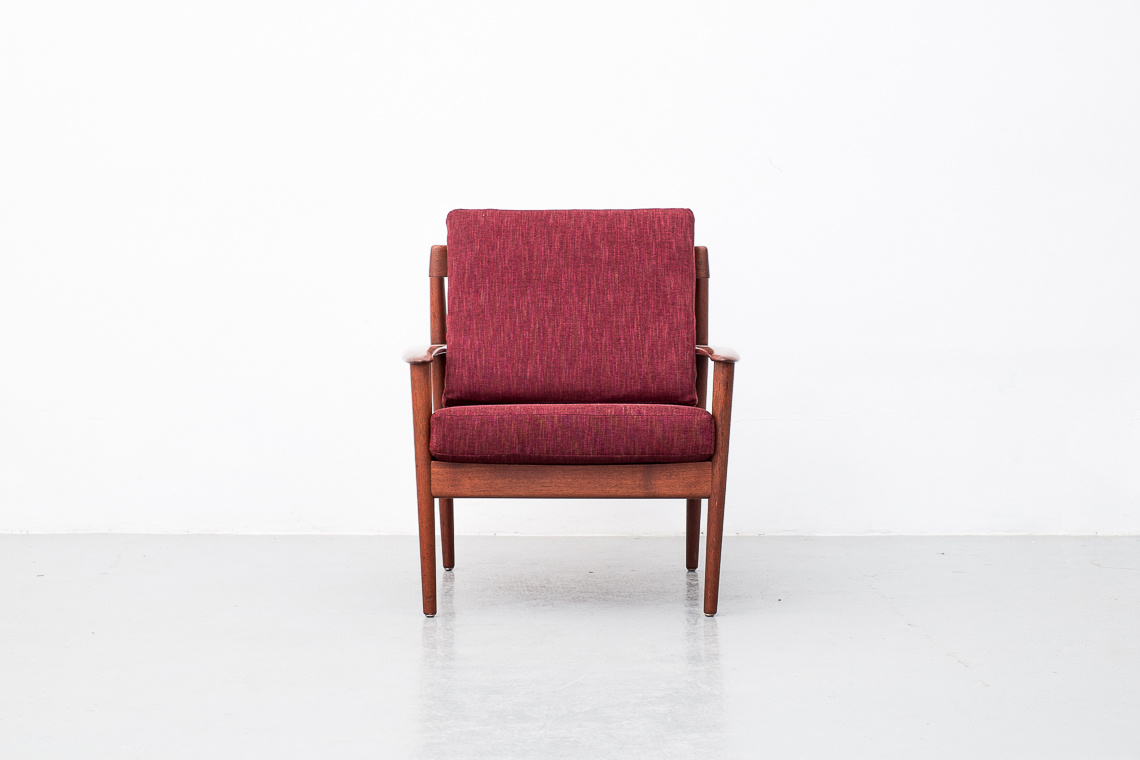 PJ56 ARM CHAIR BY GRETE JALK FOR P. JEPPESEN MØBELFABRIK