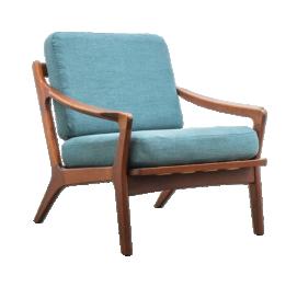 Danish Teak Easy Chair by Arne Wahl Iversen