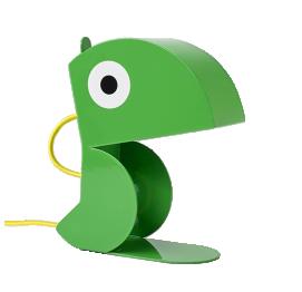Green Parrot lamp