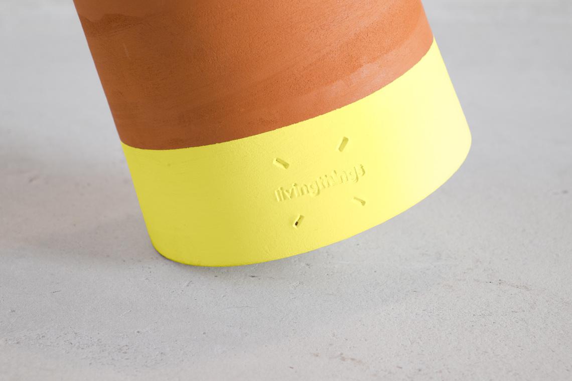 MACETA Voltasol Mini Yellow