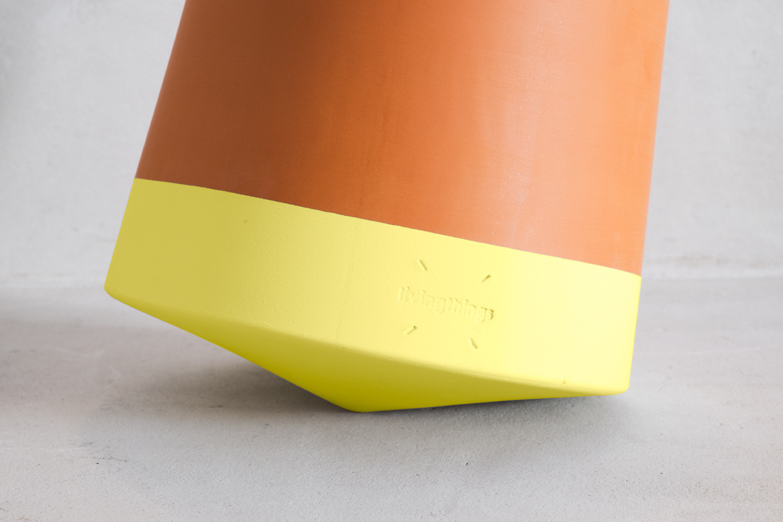 MACETA Voltasol Large Yellow