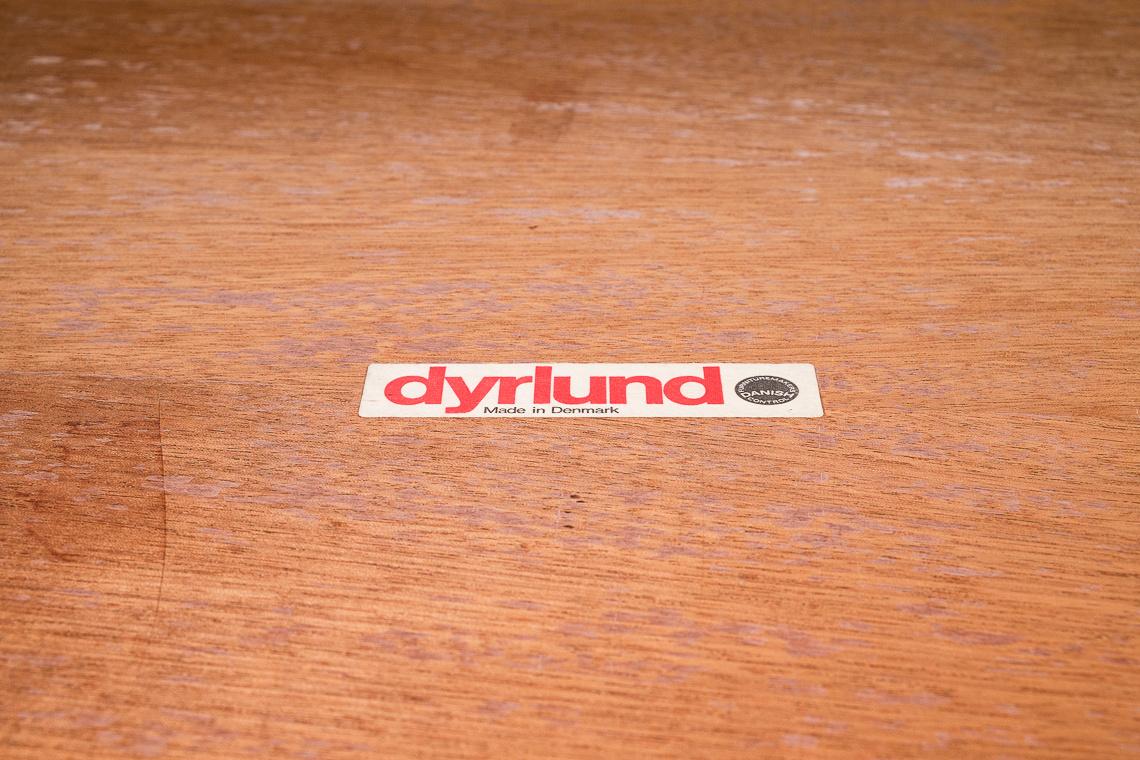 ESCRITORIO EN PALISANDRO DE DYRLUND DENMARK