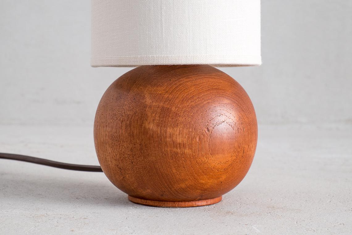 Pequeña lámpara de sobremesa made in west germany