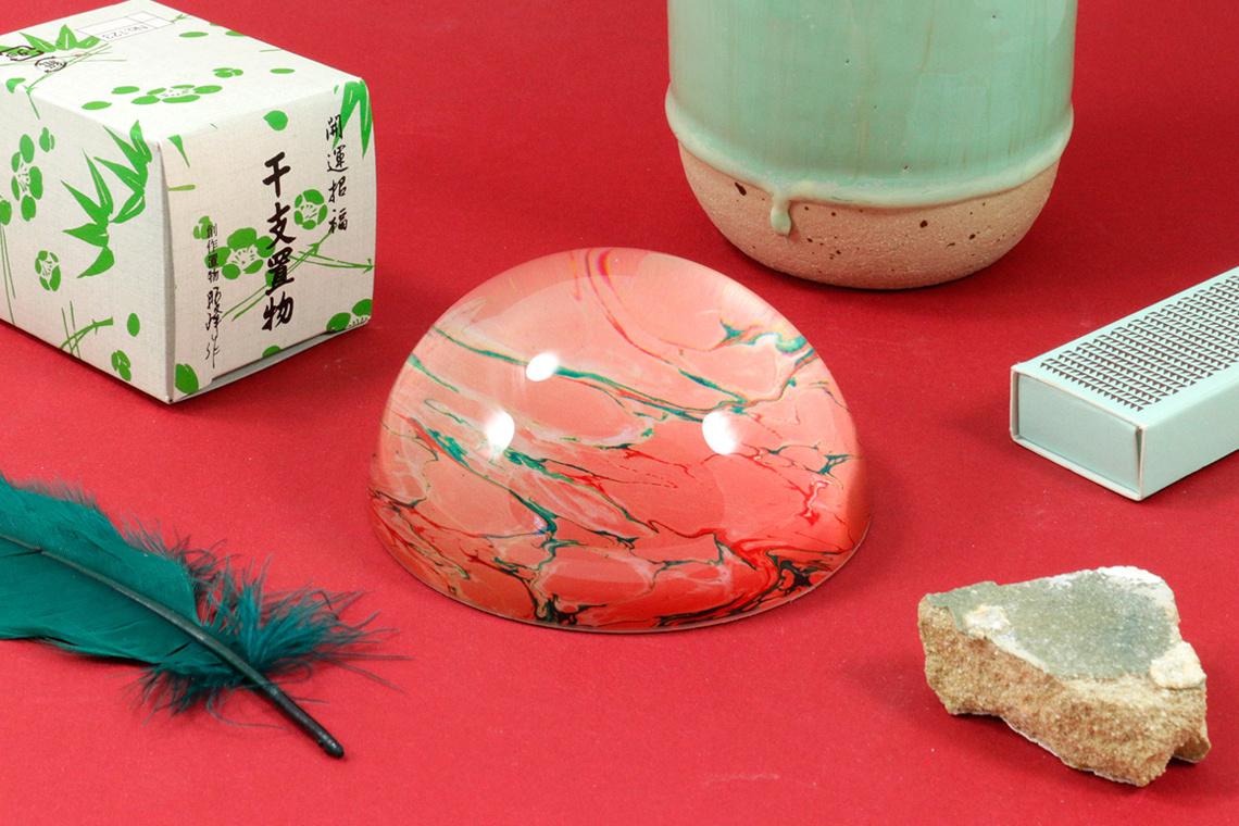 PISAPAPELES Pink Marble DE Studio Arhoj