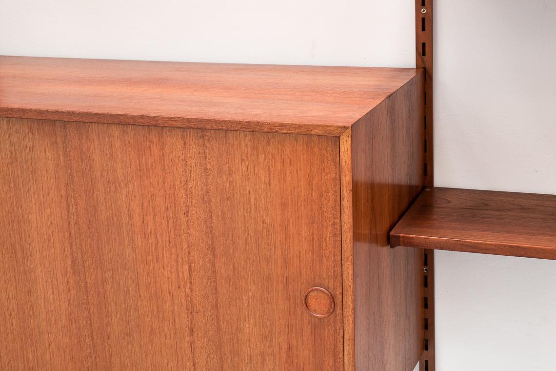 Estanteria modular de Kai Kristiansen para FM Furniture