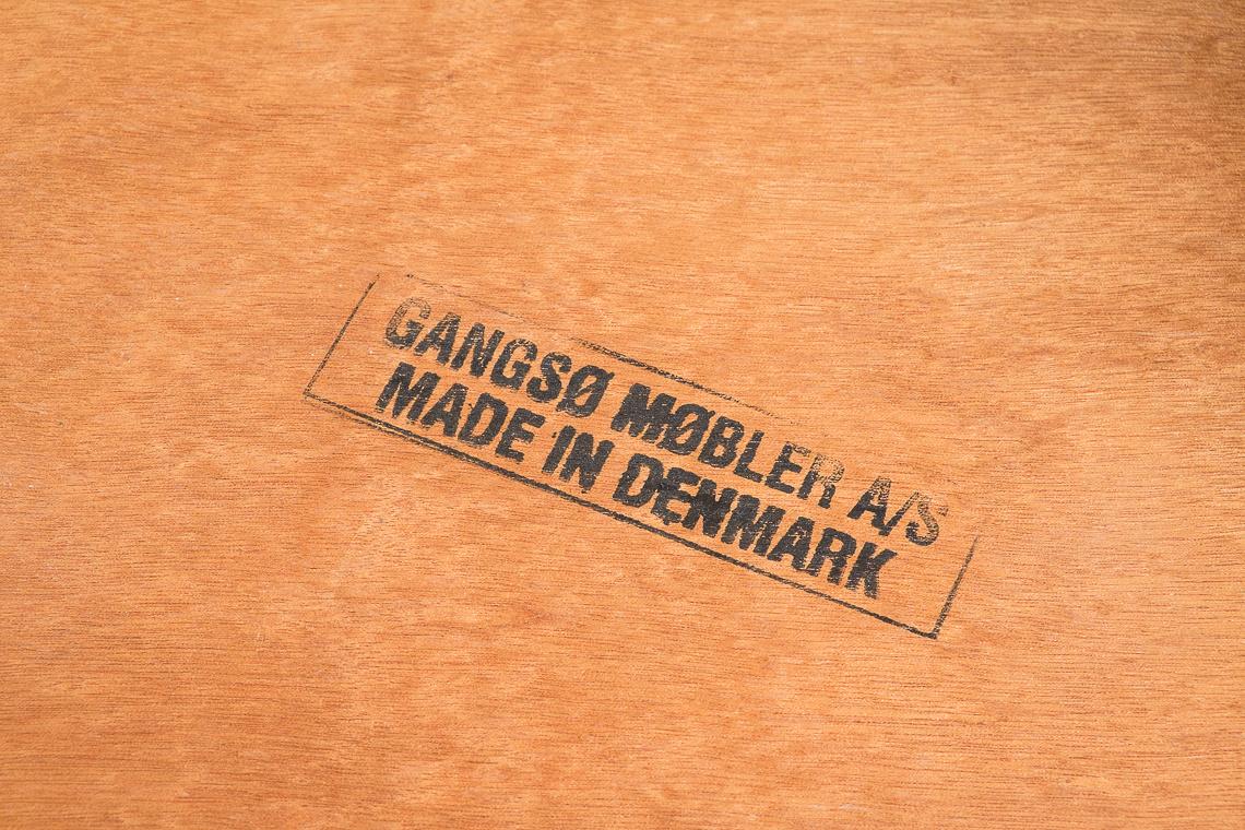 MESA DE COMEDOR extensible DE Gangsø Møbler